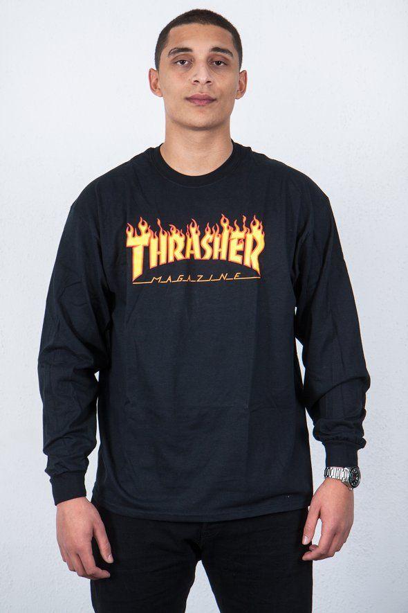 ce7554dfffa9 Thrasher - Flame Logo Tee