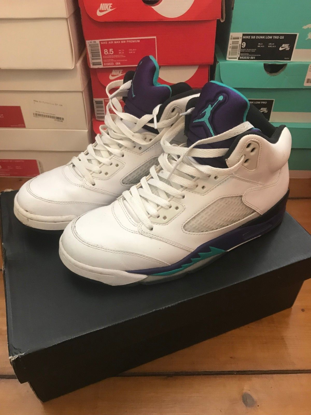 Nike Air Jordan 5 OG Grape / Fresh Prince UK 8 EU 42.5 | FOR SALE ...