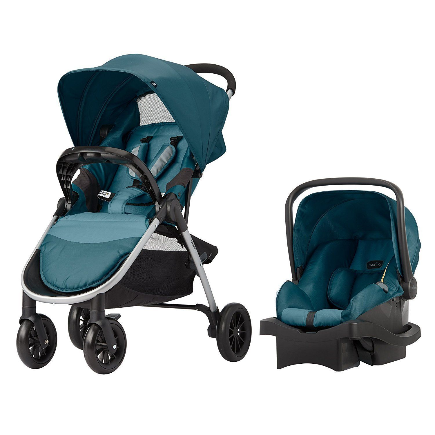 Evenflo Folio Travel System, Meridian See how you can