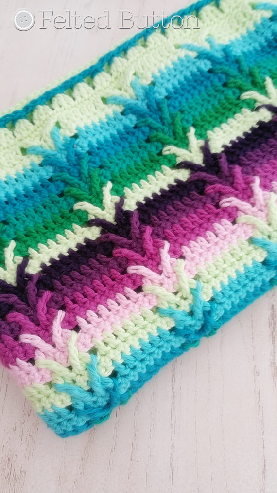 Crochet Pattern, Afghan, Throw, Baby Blanket, This Way Blanket ...