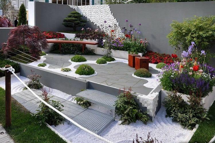 Jardin contemporain et déco originale en 15 idées d\'aménagement   Du ...