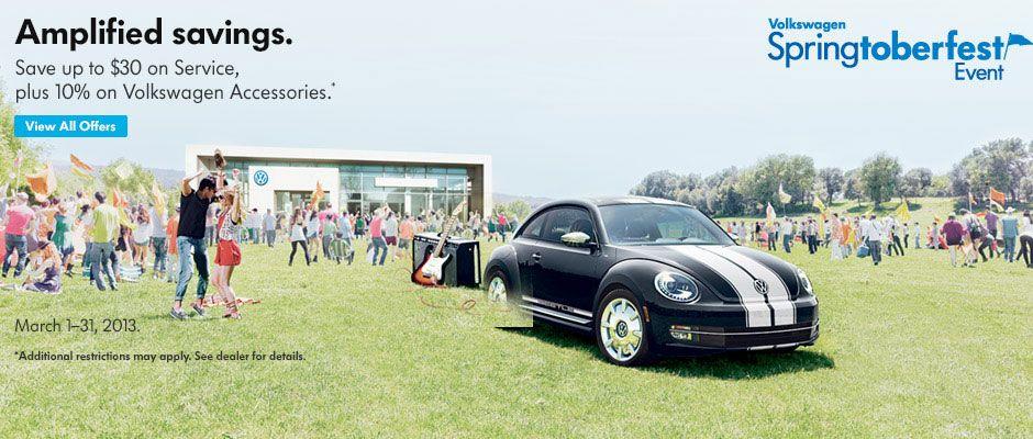 Springtoberfest First Team Volkswagen Volkswagen, One