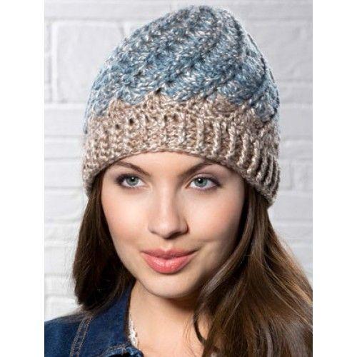 Mary Maxim - Free Spiral Shell Hat Pattern - Patterns & Books | Hats ...