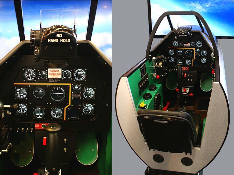 the simaviatik p 51 cockpit jeux voiture pc pinterest simulateur de vol jeu voiture et. Black Bedroom Furniture Sets. Home Design Ideas