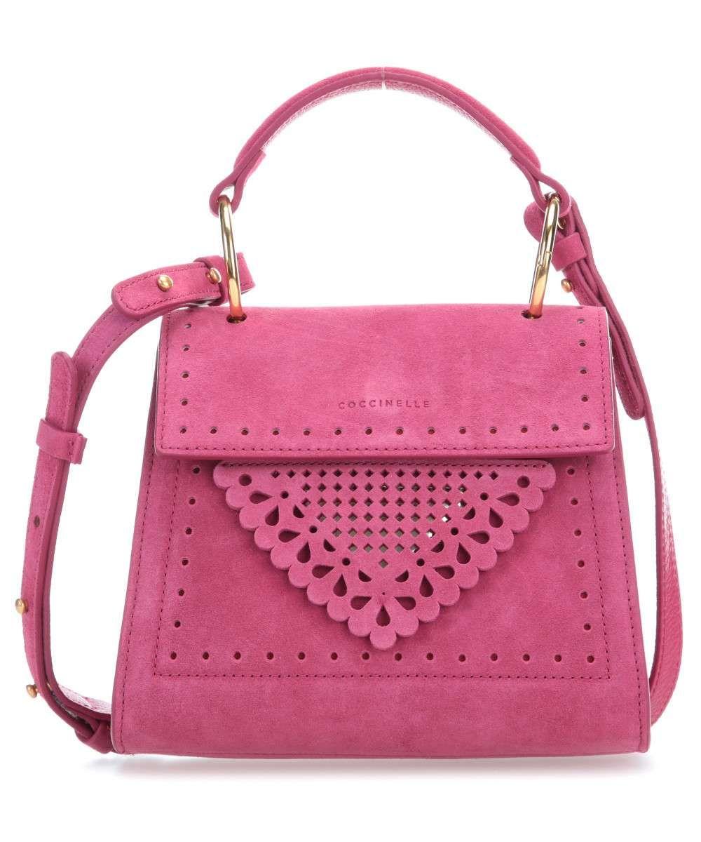 Coccinelle | Pink Leather Handbag | £269.00, SALE £148.01
