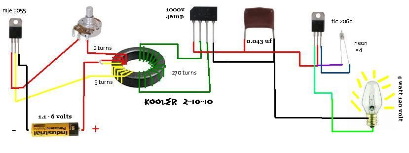 Second Stage Joule Thief Circuits