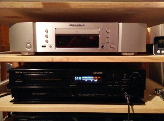 Denon DRS-810 + Marantz CD6004   tape deck and CD player