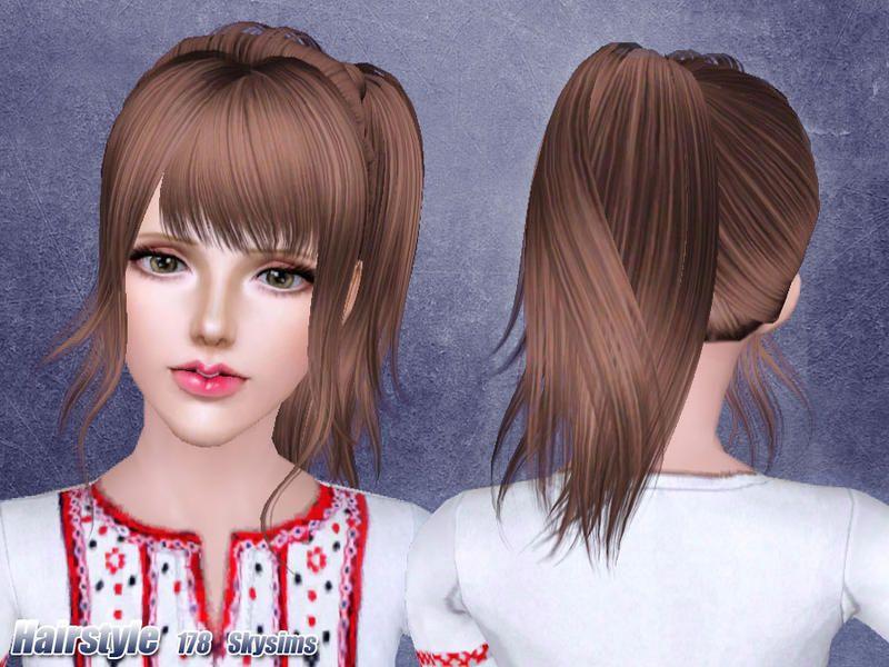 Épinglé sur Coiffure Femme (Sims 3)