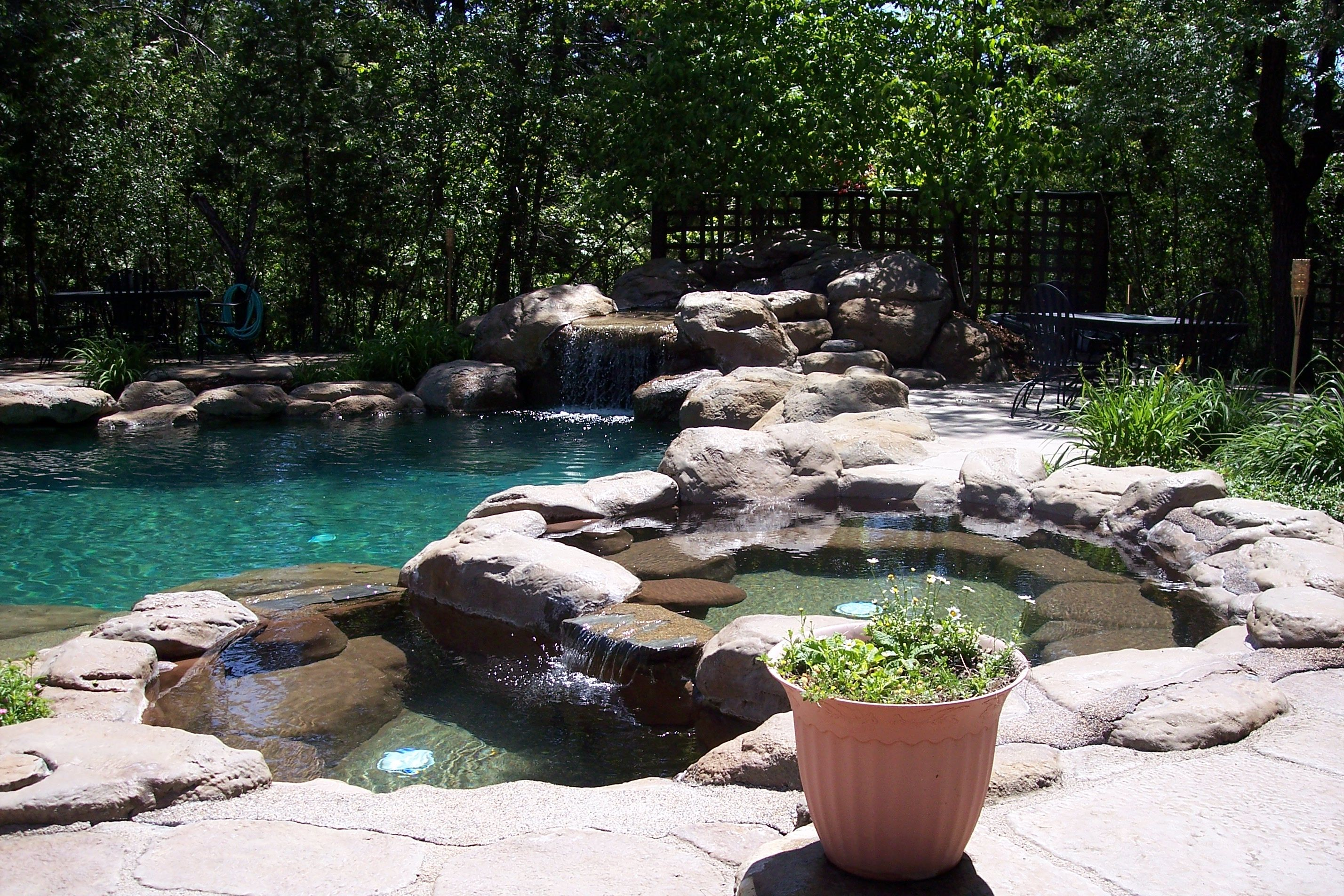 fourth of july with the family in gold country the pool at the