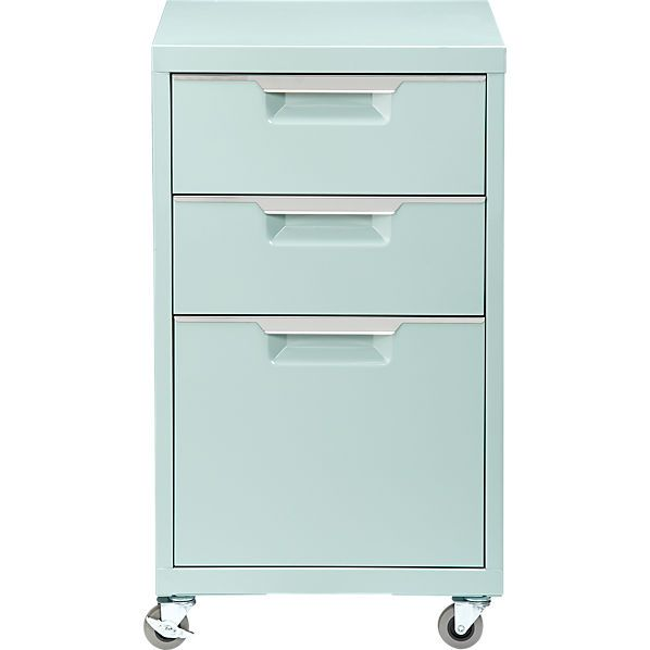 Tps Mint File Cabinet By Williams Sonoma Filing Cabinet