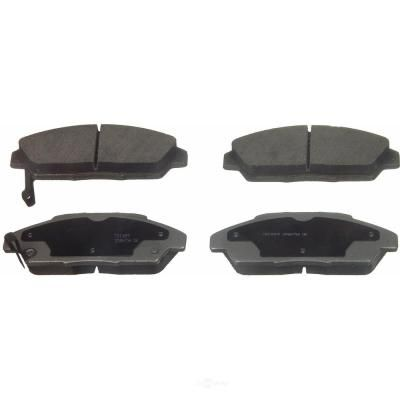 Wagner Brake Disc Brake Pad Set 1990 1993 Honda Accord 2 2l Qc496 The Home Depot In 2021 Honda Accord Brake Pads Ceramic Brakes
