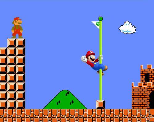Antes y después, Mario.