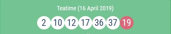 UK #49's #Lunchtime Results 16 04 2019 |49s Lotto