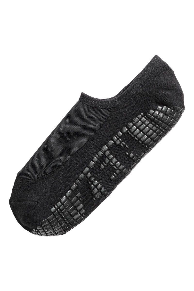 Calcetines de yoga | Negro | MUJER | H&M CL | Calcetines para hombre ...