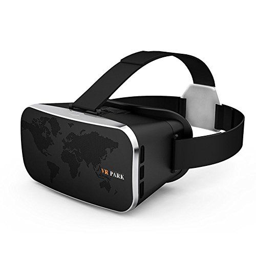 2d113e1ce39 VR Headset Virtual Reality 3D Glasses with Adjustable Strap VR Box for  Screen Size 4.0-6.0 inch Smart phones iPhone 7  7Plus 6  6Plus Samsung  Galax…