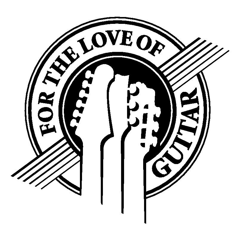 For The Love Of Guitar Logo
