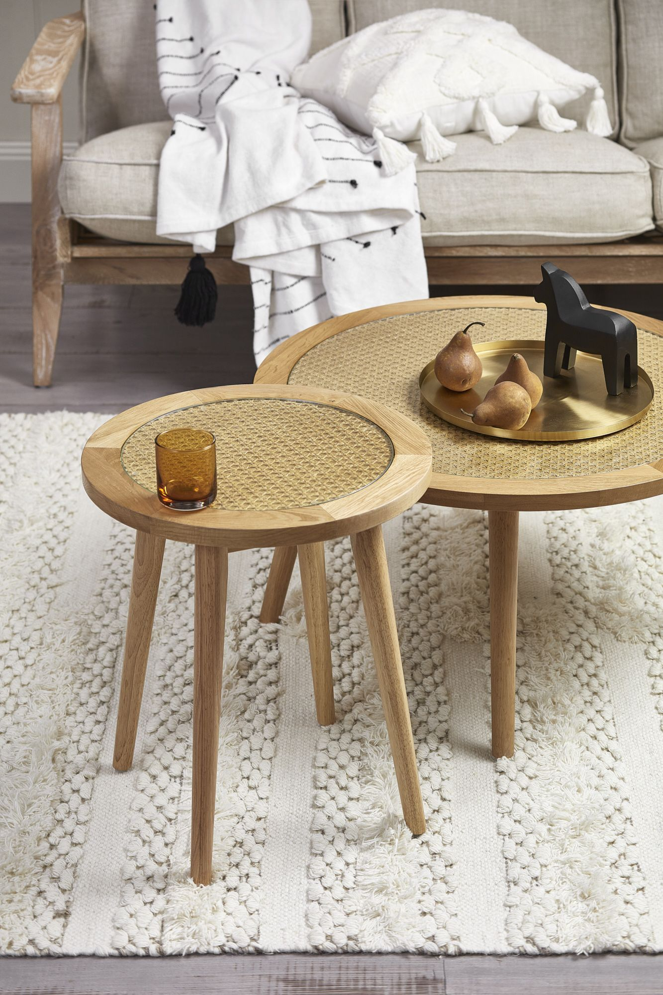 Weave A Touch Of Tropical With Woven Rattan Natural Textures And