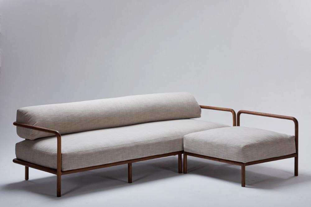 Melike L Shaped Sofa Nestedny In 2020 Dining Sofa Sofa Furniture Metal Sofa