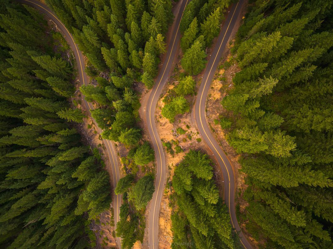 Oregon Roads Aerial Photography Drone Aerial Photography Landscape Photography