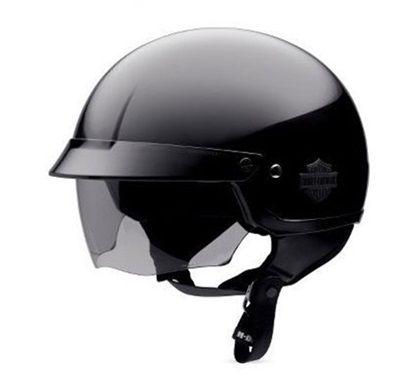 Harley Davidson Men S Half Helmet With Retractable Sun