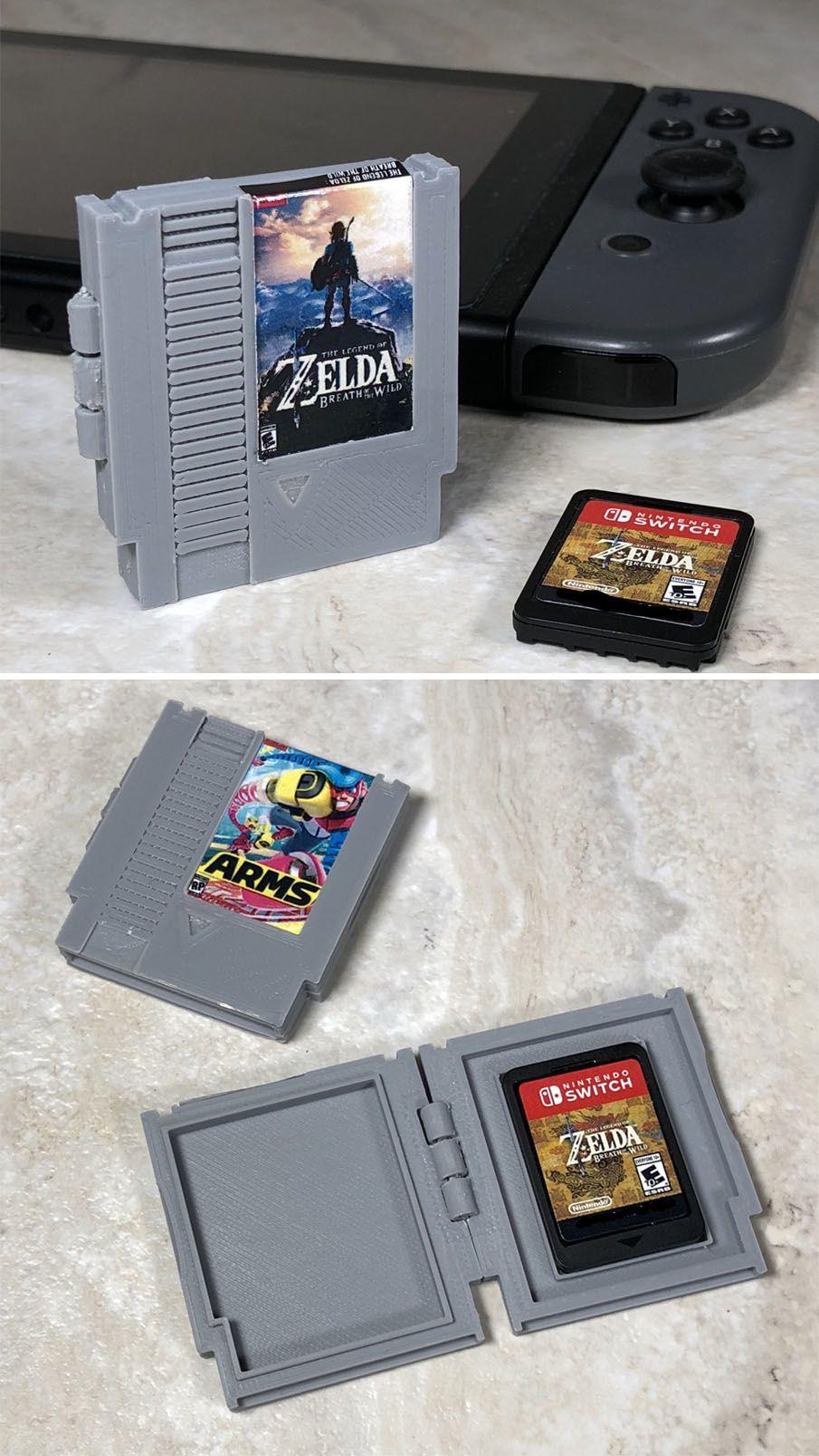 Nes Nintendo Switch Cartridge Case Nintendo Pinterest