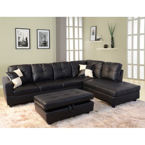 Russ 103 5 Sectional With Ottoman Cheap Living Room Sets Leather Sectional Sofas Sectional Sofa