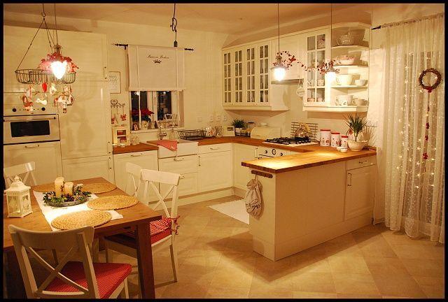 Vánoční barvy a ladění v kuchyňce