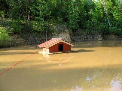 DIY Floating Duck House