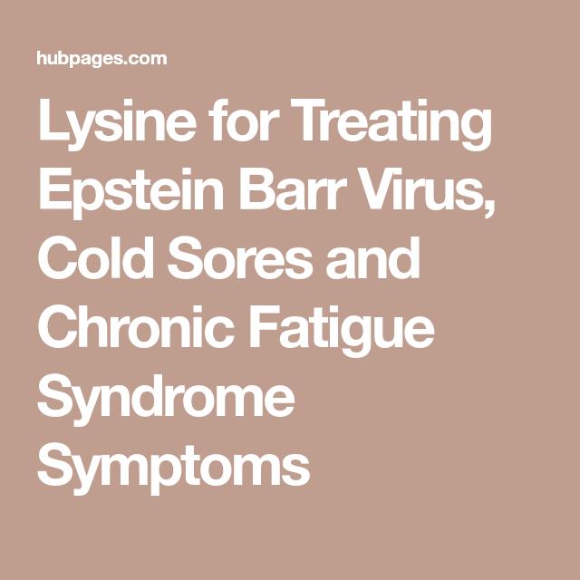 How To Get Rid Of Chronic Epstein Barr Virus