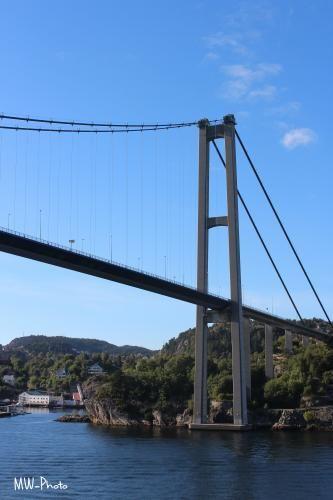 Bridge in Bergen/Norway over the Fjorde