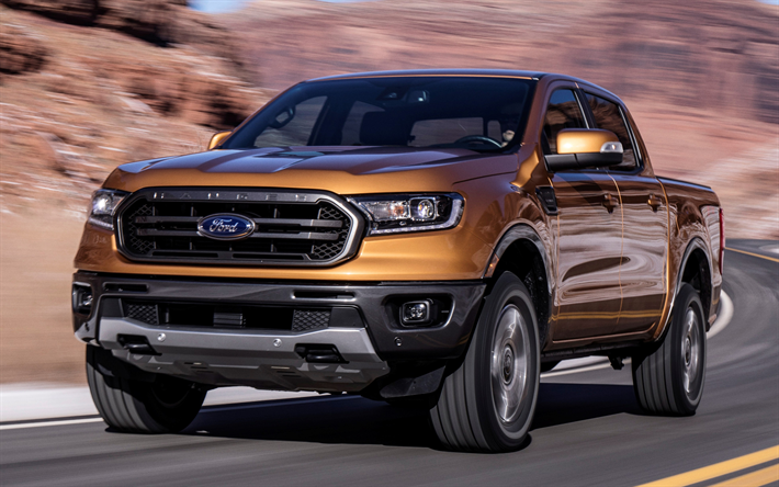 Download imagens Ford Ranger, 2019, American SUV ...