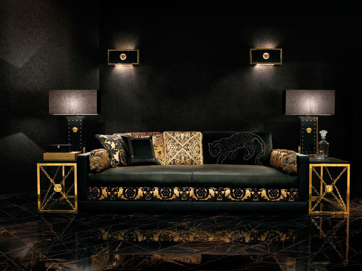 Mobili Versace ~ Fearless luxury with versace versace brand versace and interiors