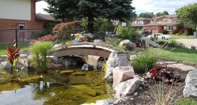 Gartenteich selber bauen \u2013 Teichschale oder Folie wählen Pinterest - wasserfall selber bauen