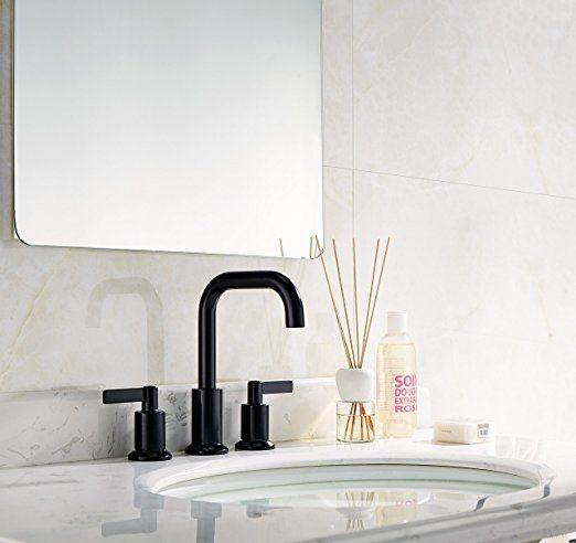 TimeArrow TAF288S-MT Two Handle 8 inch Widespread Bathroom Sink ...