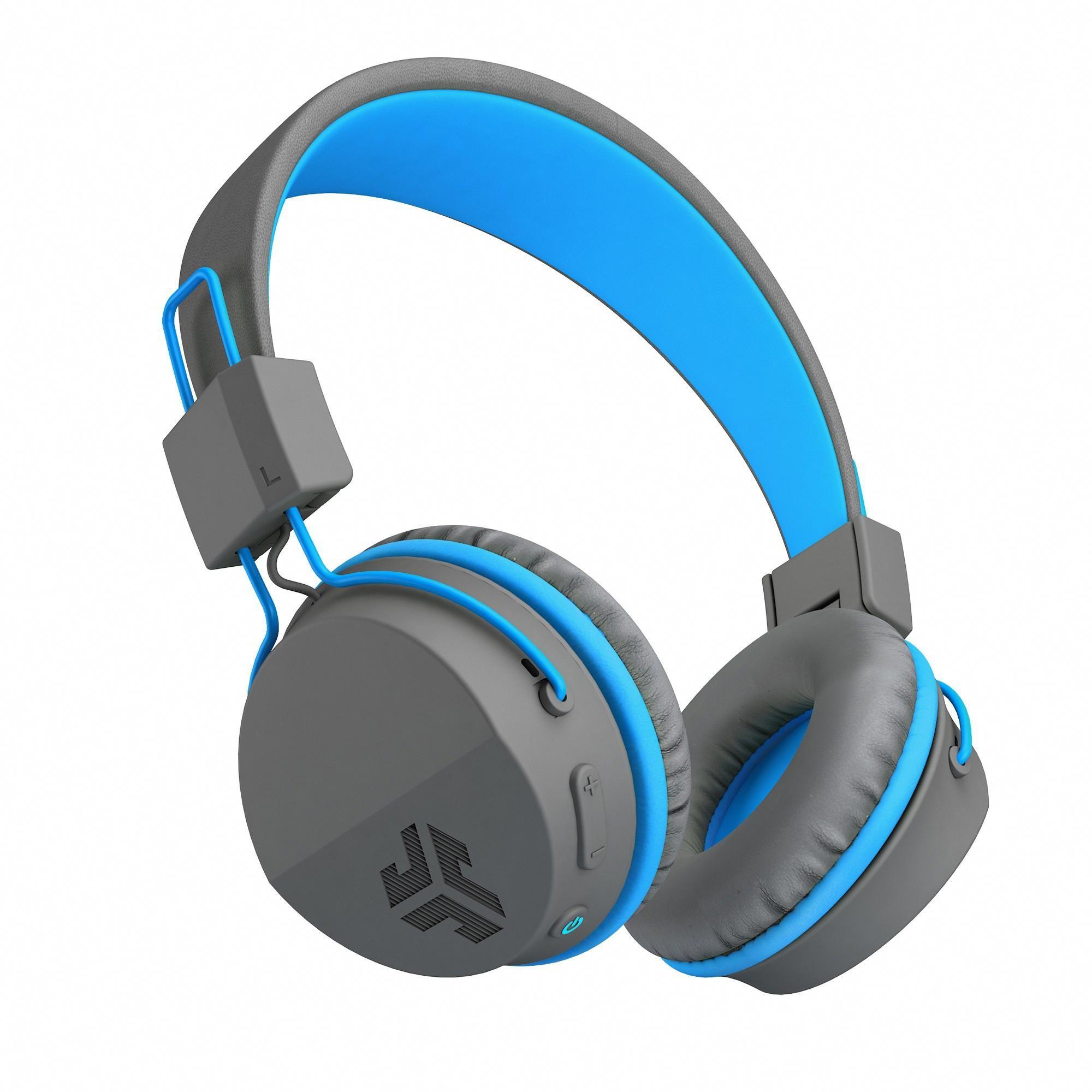 JLab Neon Wireless OnEar Headphones Blue In ear