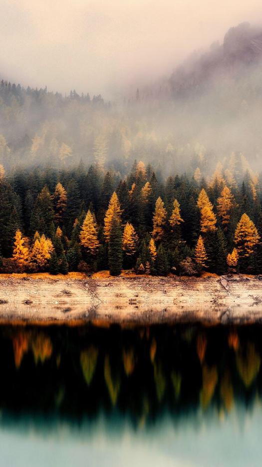Fall Landscape Iphone Wallpaper Autumn Landscape Landscape Wallpaper Fall Wallpaper
