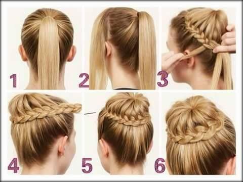 Como Hacer Tiaras Para Ni A Para Bautizo Peinados Faciles Y Rapidos Peinados Faciles Pelo Corto Peinados Con Trenzas