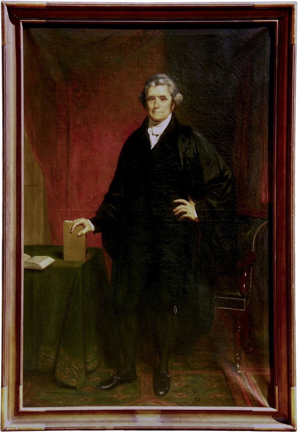 Chief Justice John Marshall 1755 1835 Artist Benjamin F Landis After The Original By Chester Harding 179 American Antiques Southern Art Southern Artist