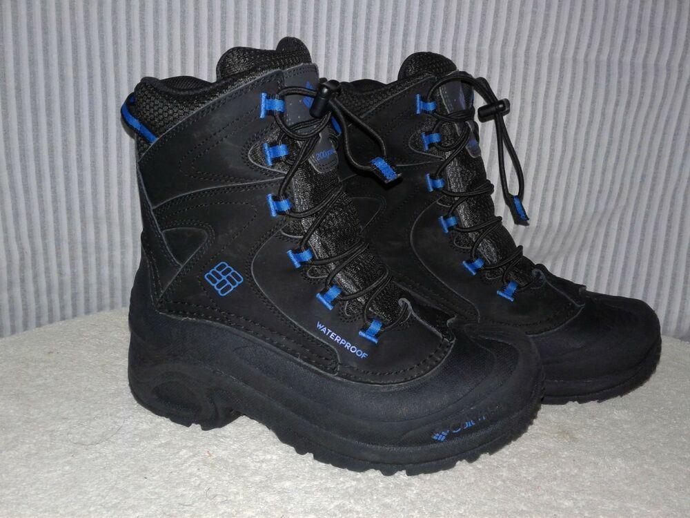Columbia 200Gram Insulated Black Waterproof Winter Boots