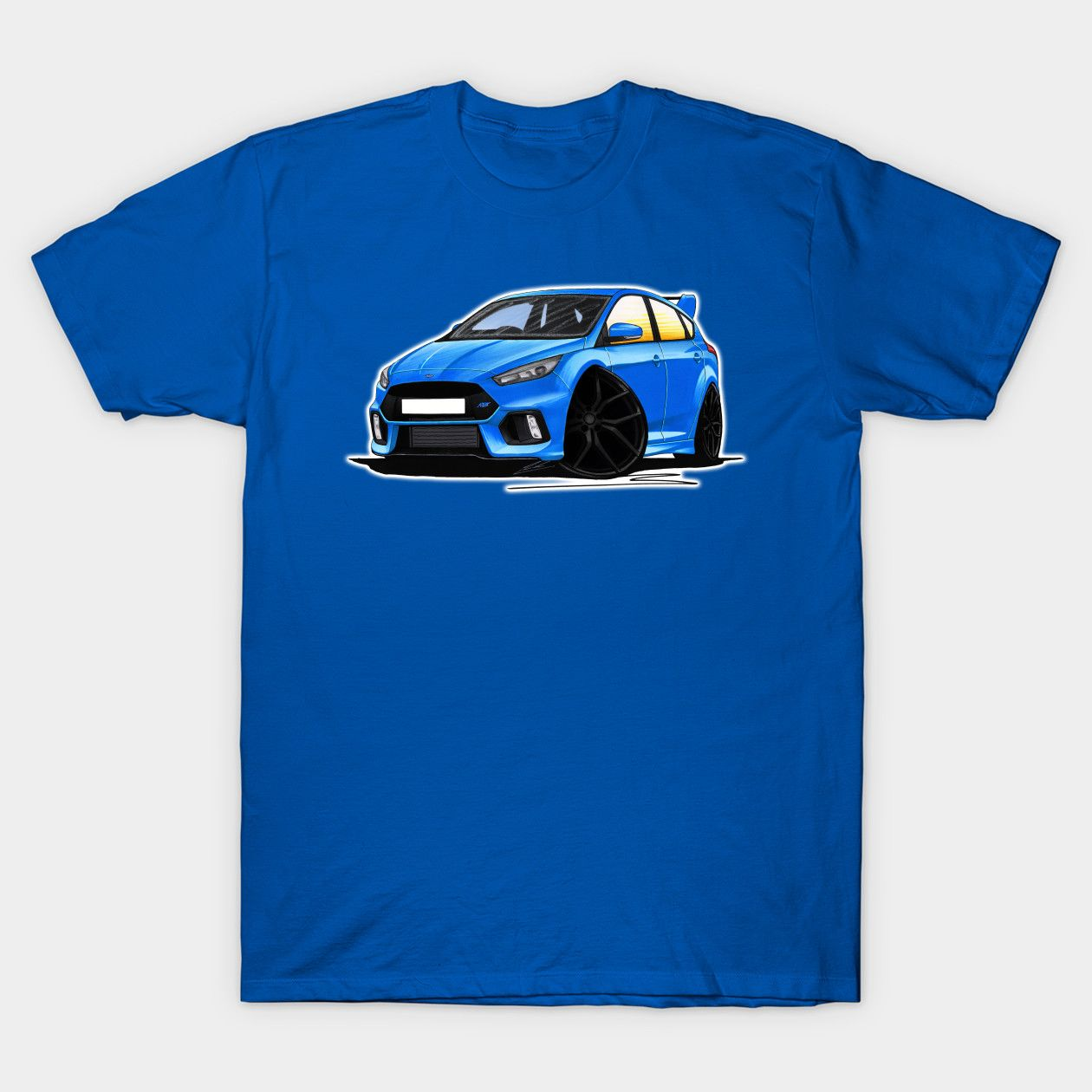 Ford Focus Mk3 Rs Blue Focus Rs Classic T Shirt Classic T