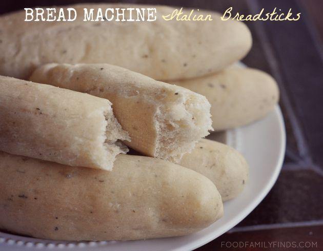 Bread Machine Italian Breadsticks