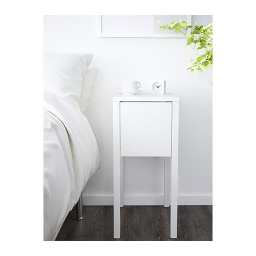 Nordli bedside table white 30x50 cm nightstands shelves and nordli bedside table white 30x50 cm ikea watchthetrailerfo
