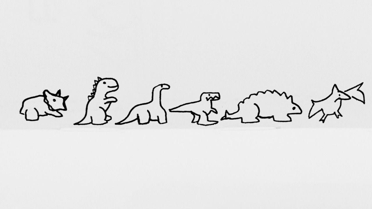 Dino Doodles Dinosaur Tattoos Body Art Tattoos Mini Drawings
