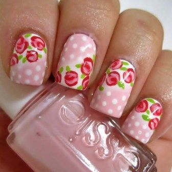 Nail Art Designs Simple Flowers Hession Hairdressing
