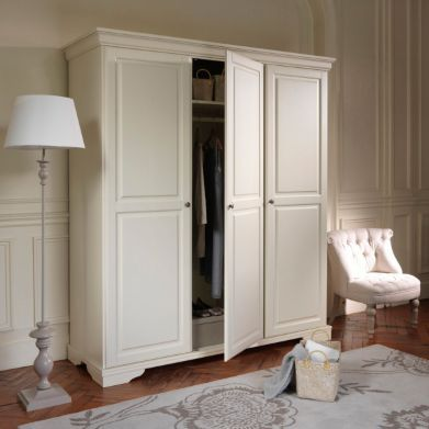 armoire penderie 232 re pin massif louis philippe la redoute style cottage armoire