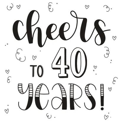 Verjaardagsideeen 40 Jaar