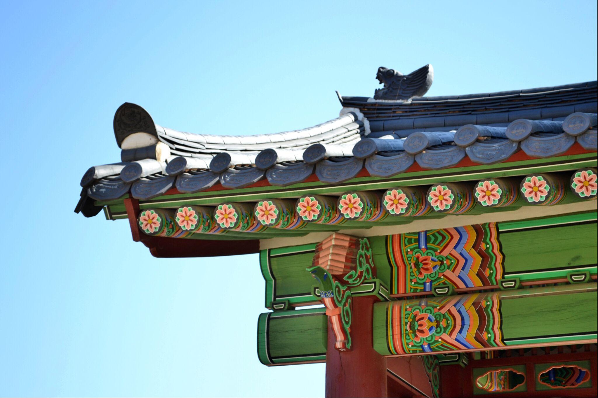 SOKOR '14: Colors and details. Gyeongbokgung Palace (Seoul, Korea)
