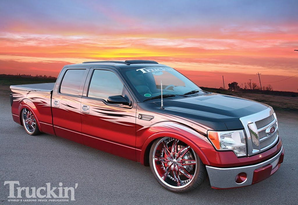 Custom F150 Pictures Fully Customized Ford F150 With Color