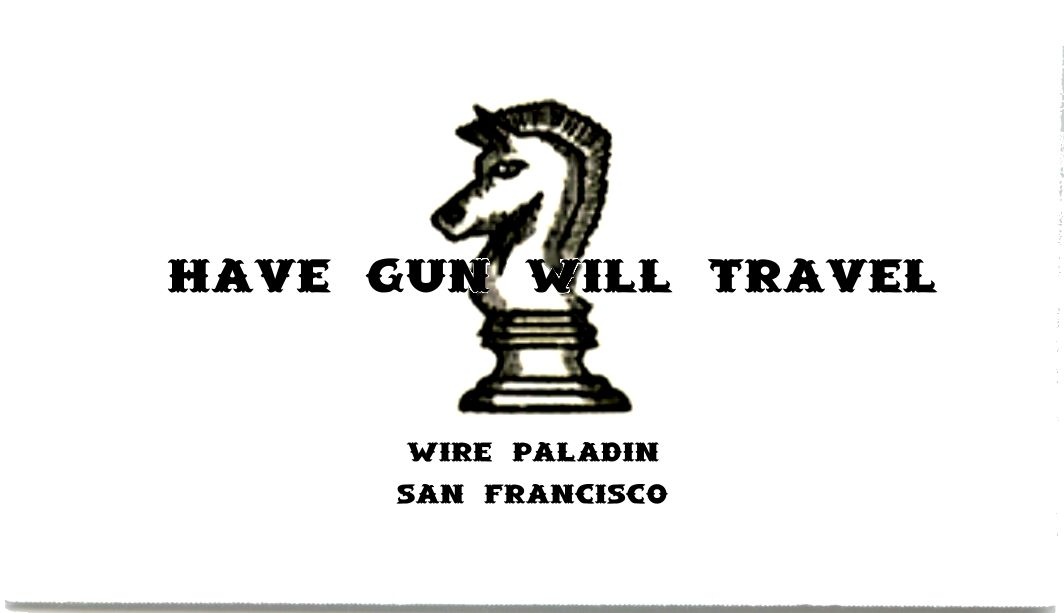 Paladin.jpg (1064×613) From Have Gun Will Travel | TV Business Cards ...