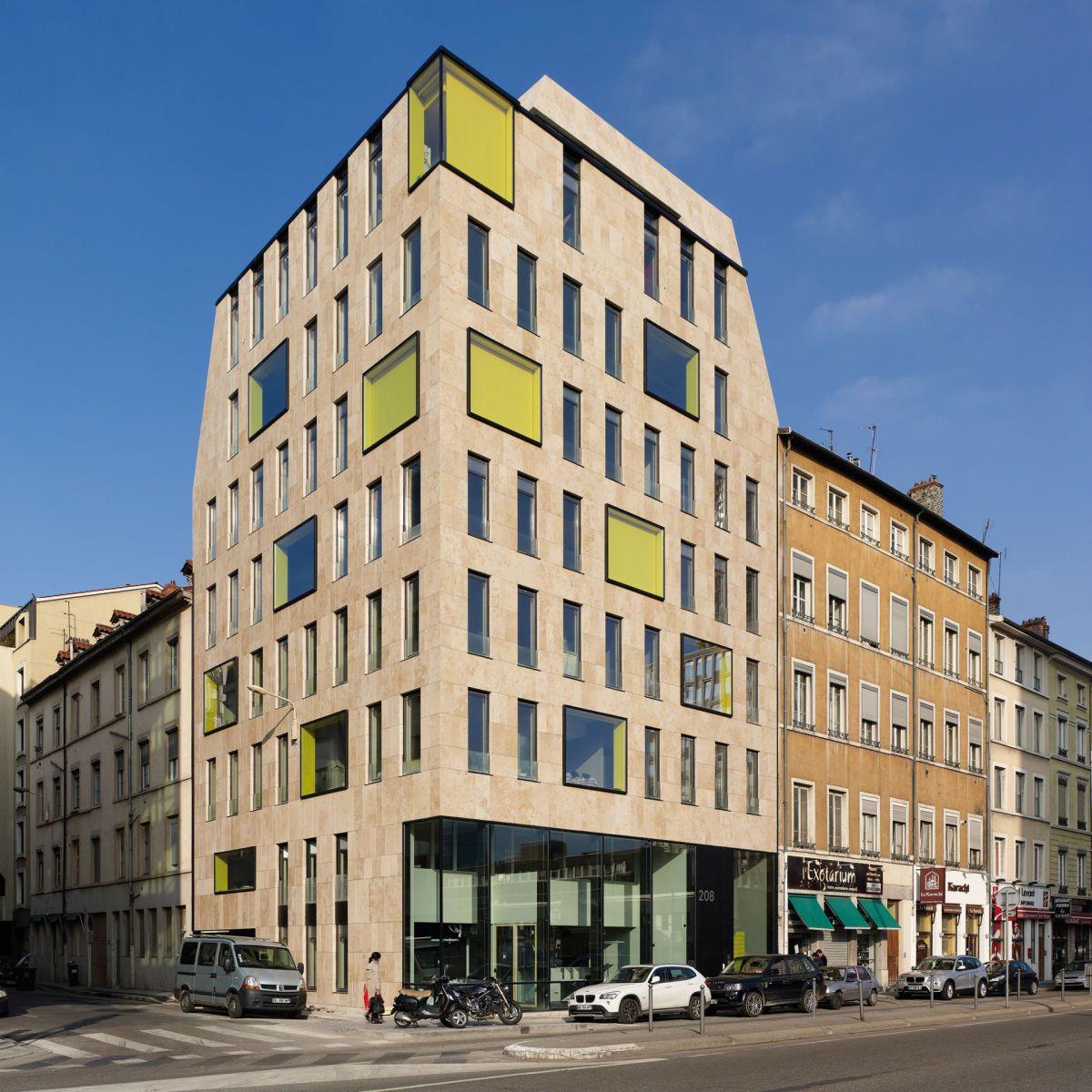 L 39 immeuble 208 garibaldi situ dans le quartier de la part dieu lyon accueille le si ge social - Bureau d etude paysage lyon ...